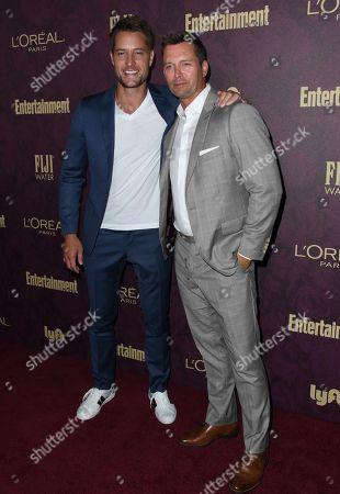 Justin Hartley, Eric Martsolf