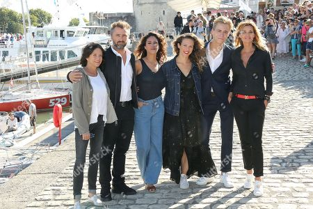 Charlotte Valandrey, Alexandre Brasseur, Samira Lachhab, Lorie (aka Lorie), Hector Langevin and Ingrid Chauvin