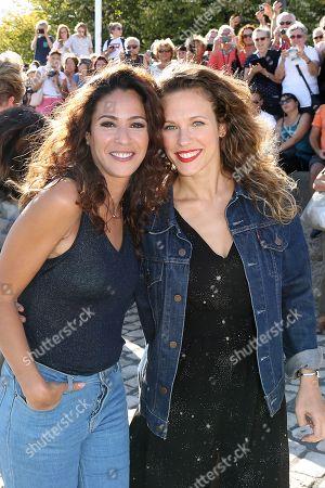 Samira Lachhab and Lorie (aka Lorie)