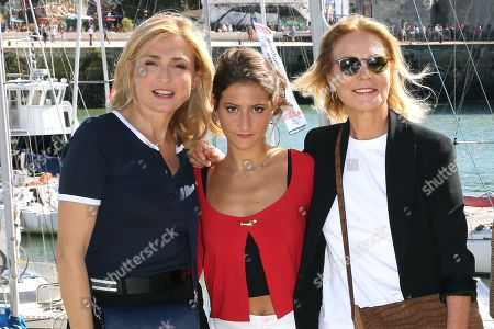Stock Image of Julie Gayet, Lola Creton and Marthe Keller
