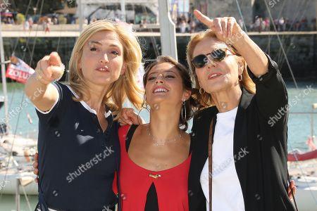 Julie Gayet, Lola Creton and Marthe Keller
