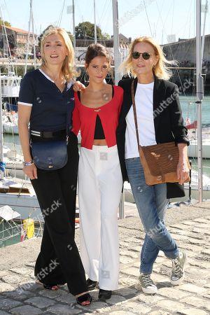 Editorial image of 'Devoilees' TV Movie, La Rochelle TV Fiction Festival, France - 15 Sep 2018