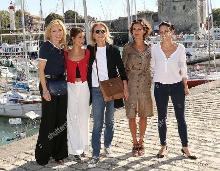 Stock Photo of Julie Gayet, Lola Creton, Marthe Keller, Noemie Kocher
