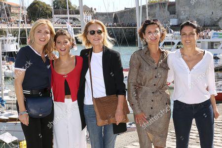 Stock Picture of Julie Gayet, Lola Creton, Marthe Keller, Noemie Kocher