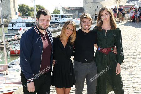 Karim Leklou, Alice Belaidi, Zachary Chasseriaud and Louise Bourgoin