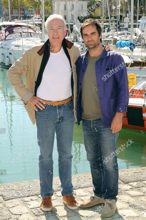 Stock Image of Bernard Le Coq and Gregory Montel