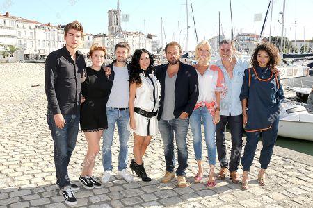 Jules Fabre, Enola Right, Grant Lawrens, Fabienne Carat, Stephane Henon, Rebecca Hampton, Jerome Bertin and Manon Bresch