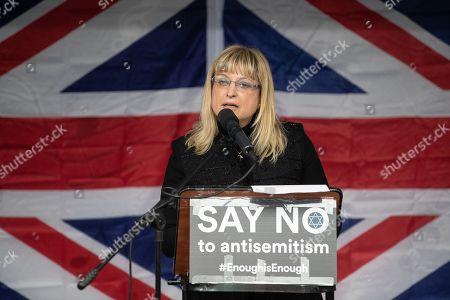 Stock Image of President of the British Board of Deputies Marie Van Der Zyl