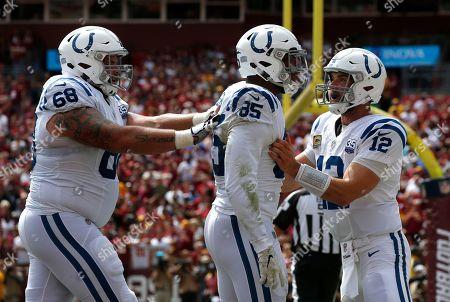 Editorial image of Colts Redskins Football, Landover, USA - 16 Sep 2018