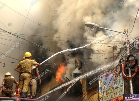 Fire Breaks out at Bagree Market, Kolkata