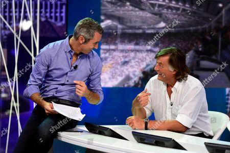 Editorial image of 'Quelli Che Il Calcio' TV show photocall, Milan, Italy - 16 Sep 2018