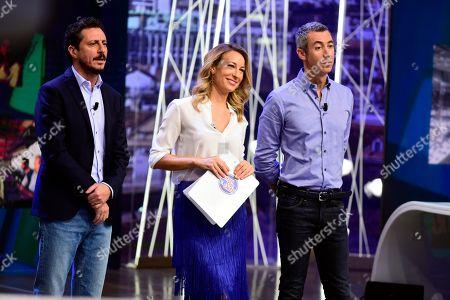 Editorial picture of 'Quelli Che Il Calcio' TV show photocall, Milan, Italy - 16 Sep 2018