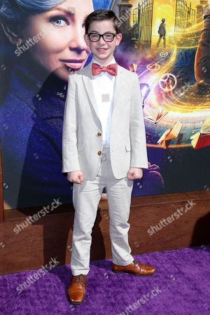 Editorial image of 'The House with a Clock in the Walls' film premiere, Los Angeles, USA - 16 Sep 2018