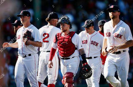 Editorial image of Mets Red Sox Baseball, Boston, USA - 16 Sep 2018