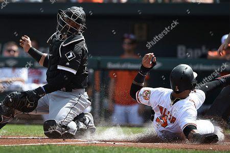 Editorial photo of White Sox Orioles Baseball, Baltimore, USA - 16 Sep 2018