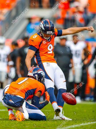 Editorial photo of Raiders Broncos Football, Denver, USA - 16 Sep 2018