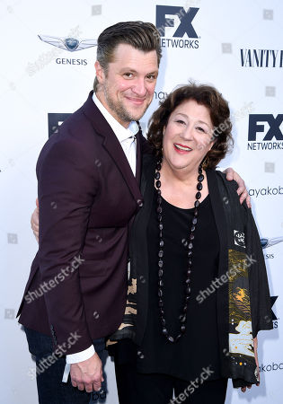 Stock Image of Shane McRae and Margo Martindale