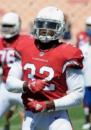 Stock Picture of Arizona Cardinals fullback Derrick Coleman (32) on the field during warm-ups before the start of an NFL football game against the Los Angeles Rams, in Los Angeles