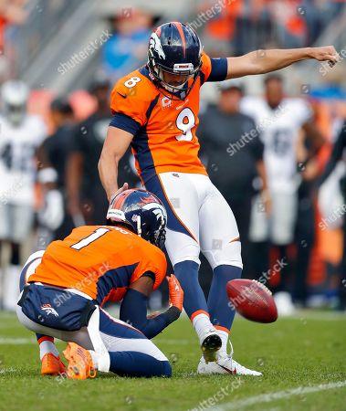 Editorial image of Raiders Broncos Football, Denver, USA - 16 Sep 2018