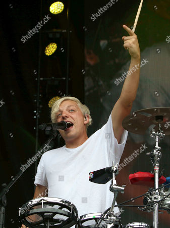 Robert DeLong performs during Music MidTown 2018 at Piedmont Park, in Atlanta