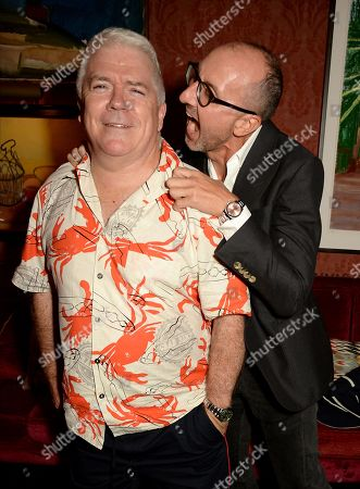 Tim Blanks and Gianluca Longo