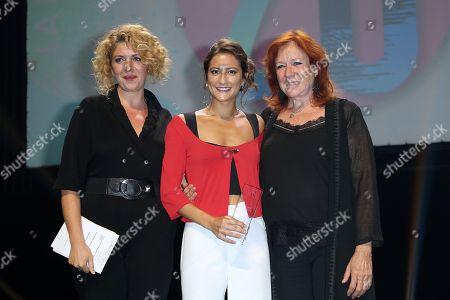 Baya Kasmi, Lola Creton and Eva Darlan