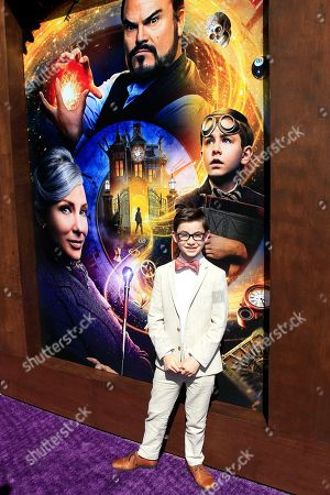 US actor/cast member Owen Vaccaro arriving at the premiere of Universal Pictures ?The House With A Clock In Its Walls? at TCL Chinese Theatre IMAX in Los Angeles, California, USA 16 September 2018. The movie opens in the US 21 September 2018.