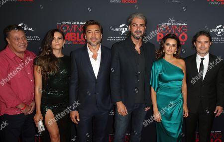 Julieth Restrepo, Javier Bardem, Fernando Leon de Aranoa, Penelope Cruz, Dean Nichols