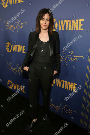 Katherine Moennig pictured at Showtime's Emmy Eve Celebration at the Chateau Marmont in West Hollywood, CA on