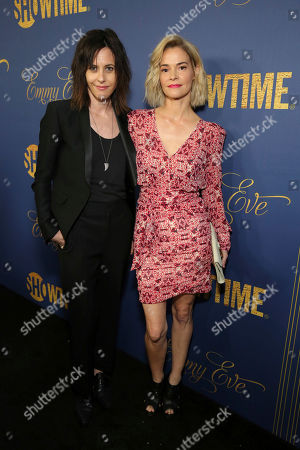 Katherine Moennig, Leisha Hailey. Katherine Moennig and Leisha Hailey pictured at Showtime's Emmy Eve Celebration at the Chateau Marmont in West Hollywood, CA on