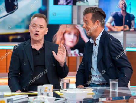 Terry Christian and Pat Sharp
