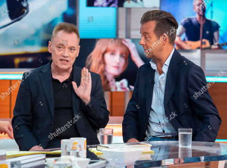 Stock Image of Terry Christian and Pat Sharp