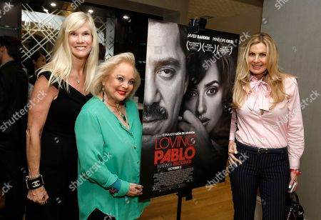 Stock Image of Paula Karcher, Carol Connors, Tracy Bunte