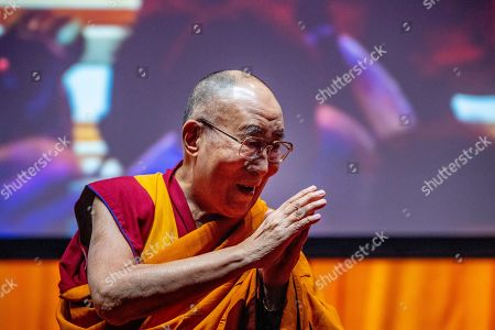 Photos De Stock De Dalai Lama Visit Netherlands Exclusives
