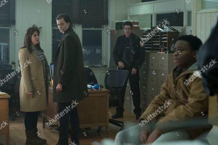 Melanie Lynskey as Molly Strand, Bill Skarsgard as The Kid, Chosen Jacobs as Wendell Deaver