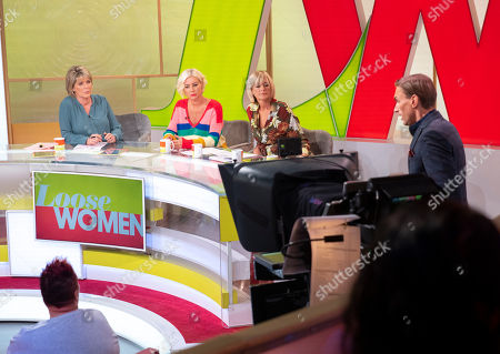 Ruth Langsford, Denise Van Outen, Jane Moore and Dr Christian Jessen