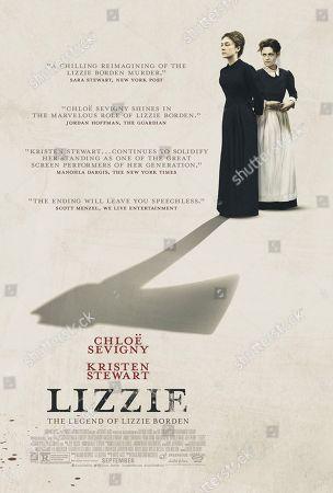 Editorial image of 'Lizzie' Film - 2018