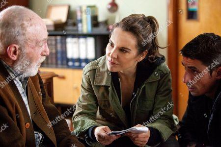 Kate Del Castillo as Emilia Urquiza, Alberto Guerra as Canek Lagos