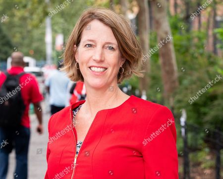 Editorial picture of Zephyr Teachout campaigning, New York, USA - 13 Sep 2018