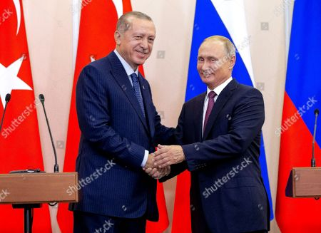 Turkish President Recep Tayyip Erdogan visit to Sochi