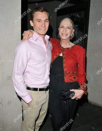 Stock Picture of Dima Campbell and Georgia Arianna (Lady Colin Campbell)