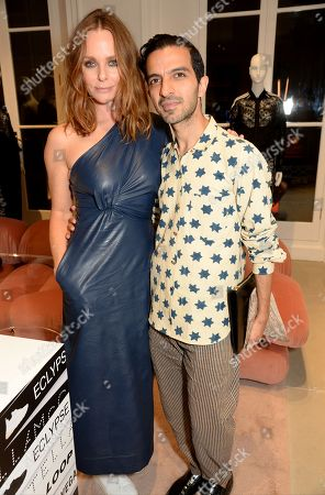 Stock Image of Stella McCartney and Imran Ahmed