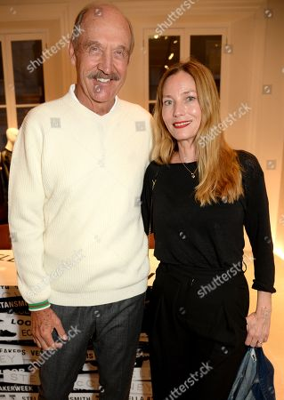 Stan Smith and Lucie de la Falaise