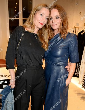 Lucie de la Falaise and Stella McCartney