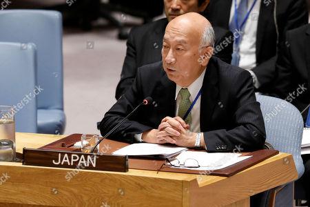 Editorial image of UN North Korea - 17 Sep 2018