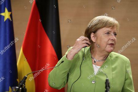 Angela Merkel visit to Algeria