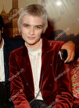 Editorial picture of LOVE Magazine 10th Birthday Party at Loulou's, London Fashion Week, UK - 17 Sep 2018