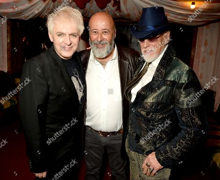 Stock Picture of Nick Rhodes, Richard Young and Antony Price