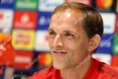 Paris Saint-Germain press conference, Anfield