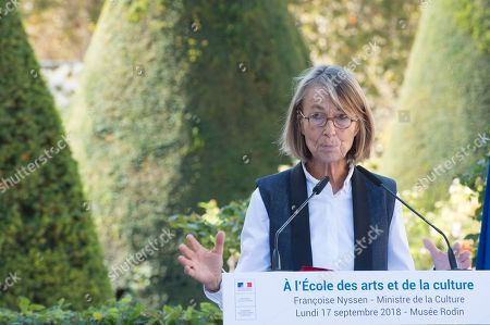 Francoise Nyssen, Minister of Culture